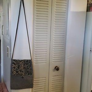 Handbags - Paisley and gingham print handmade bag